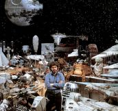 George Lucas and his creations…