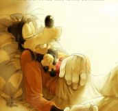 Goofy's sad story…