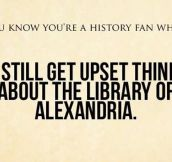 History fans…