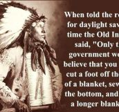 About daylight savings…