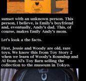 Toy story revelation…