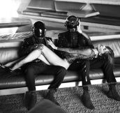 Daft Punk and Milla Jovovich…