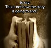 This is not the end…