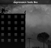 What depression feels like…