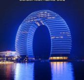 China has cooler buildings…