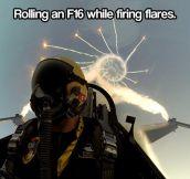 Firing flares…