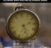 Pocket watch retrieved from a Titanic victim…