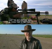 I love Adam's twisted sense of humor…