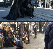 Batkid for one day…