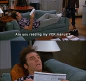 Cosmo Kramer on the literary arts…