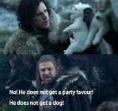 Bridesmaids + Game Of Thrones…