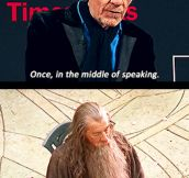 Gandalf the Sleepy…