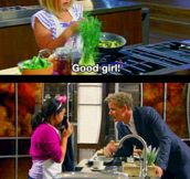 How Gordon Ramsay deals with kids…