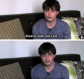 So what does Harry Potter do now…