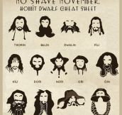 Hobbit No Shave November inspiration…