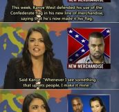 Kanye never fails to surprise me…