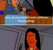 Thanksgiving celebration…