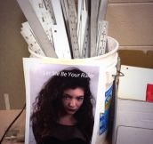 Lorde wants the job…
