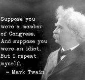 Mark Twain had it right…