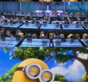 Minions, happy together…