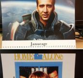 My custom-made calendar really confuses my coworkers…