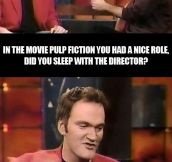 How Tarantino got his role…