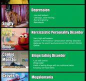 Sesame Street disorders…