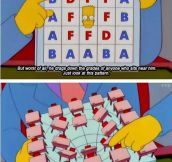 My favorite Simpsons moment…