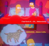 I feel kind of melancholy…