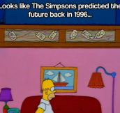 The Simpsons predicted the future…
