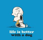 Life is way better…