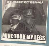 Your teacher took your phone?