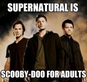 The truth about Supernatural…