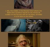 Links between The Hobbit & The Lord of the Rings…