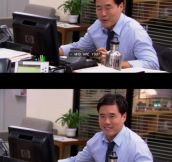 Jim and Pam's best Dwight prank…
