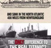 Titanic mystery…
