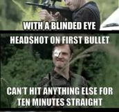 The Walking Dead mistakes…
