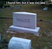 Where's Waldo…