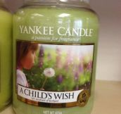 Delightful smell…