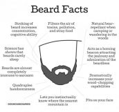 Irrefutable beard facts…