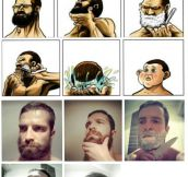 Epic beards are not meant to be shaved…