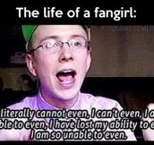 Life of a fangirl…