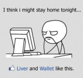 My status every weekend…