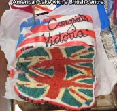 International relations in a cake…