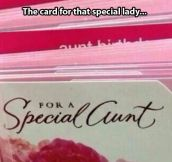 An unfortunate font choice…