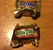 They're not fun size…