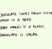 The only explanation I need…