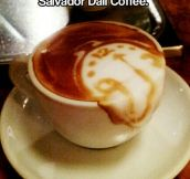 Dali coffee…