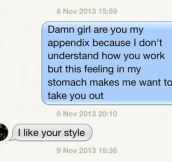 Smooth with the ladies…