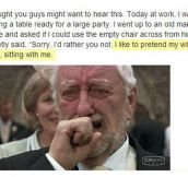 It hit me directly in the feels…
